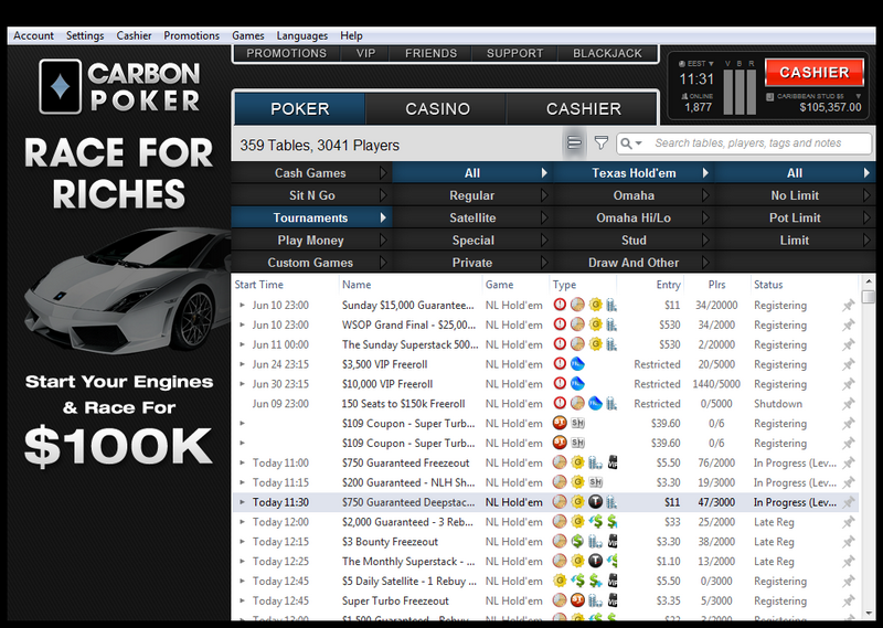 live free poker tournaments
